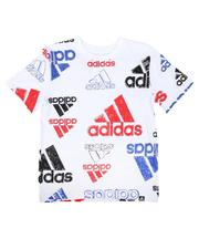 Adidas - Brand Love Sketchy Tee (8-20)-2674547