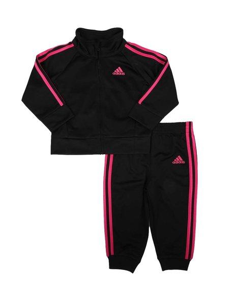 Adidas - 2 Pc Classic Tricot Jacket & Track Pants Set (3-24Mo)