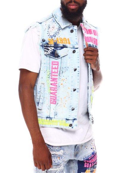 SMOKE RISE - Genuine Paint Vest