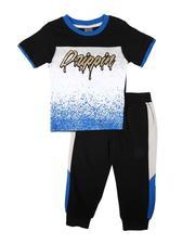 Sets - 2 Pc Drippin Color Block Tee & Jogger Pants Set (2T-4T)-2674509