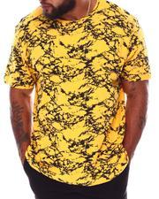 Men - All Over Marble Print T-Shirt (B&T)-2672966