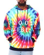Buyers Picks - Good Vibes Tie Dye Pullover Hoodie (B&T)-2673034