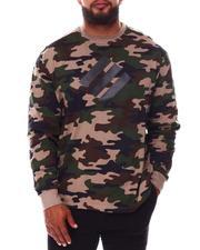 Men - Printed Camo Crewneck Long Sleeve Jersey (B&T)-2676182