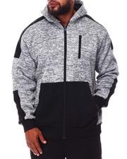 Phat Farm - Fleece Moto Zip Up Hoodie (B&T)-2676230