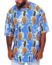 Buyers Picks - Pineapple Dye Sublimation Crew T-Shirt (B&T)-2675734