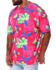 Buyers Picks - Floral Dye Sublimation Crew T-Shirt (B&T)-2675745