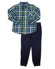 Boys - 2Pc Woven Shirt & Pants Set (4-7)-2675242