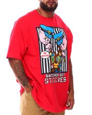 Big & Tall - Snitches Get Stitches T-Shirt (B&T)-2675917