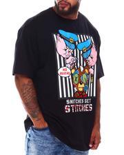 Big & Tall - Snitches Get Stitches T-Shirt (B&T)-2675911