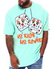 Big & Tall - No Risk No Reward T-Shirt (B&T)-2676234