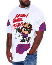 Big & Tall - Follow Your Dream Bear T-Shirt (B&T)-2676276