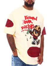 Big & Tall - Follow Your Dream Bear T-Shirt (B&T)-2676286