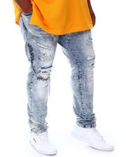 SMOKE RISE - Distressed Denim Jeans (B&T)-2676571