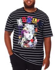 SMOKE RISE - Idols Stripe T-Shirt (B&T)-2676272
