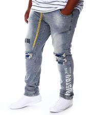 SMOKE RISE - Distressed Denim Jeans (B&T)-2676578