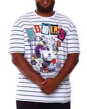 SMOKE RISE - Idols Stripe T-Shirt (B&T)-2676291