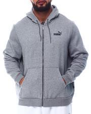 Puma - Essential Small Logo Full Zip Hoodie (B&T)-2677454