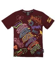 Tops - Color Graffiti Tee W/ Rhinestones (8-20)-2675564