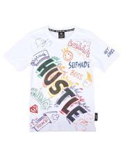 SWITCH - Color Graffiti Tee W/ Rhinestones (8-20)-2675559