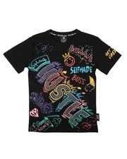 SWITCH - Color Graffiti Tee W/ Rhinestones (8-20)-2676086