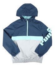 Outerwear - 1/4 Zip Up Windbreaker Jacket (8-20)-2675513