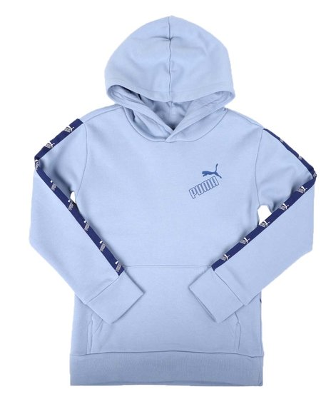 Puma - Amplified Pack Cotton Fleece Pullover Hoodie (8-20)