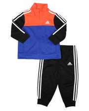 Adidas - 2 Pc Colorblock Tricot Track Set (3-24Mo)-2678168