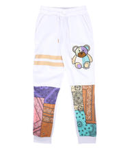 Activewear - Bandana Print Bear Joggers (8-20)-2676034