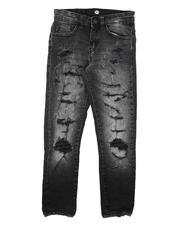 Jordan Craig - Destructed Stretch Jeans (8-16)-2676848