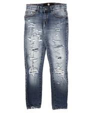 Jordan Craig - Destructed Stretch Jeans (8-16)-2676854