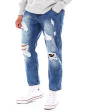 Going-Out-Outfits - Distressed Cropped Jeans-2675828