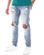 Going-Out-Outfits - Hole distressed Jeans-2675845