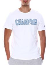 Champion - OFFSET BLOCK CHAMPION HERITAGE SHORT SLEEVE TEE-2678544