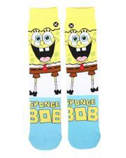 DRJ SOCK SHOP - SpongeBob Smilepants Socks-2675942