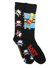 DRJ SOCK SHOP - 2Pk Bart Simpsons Socks-2679331