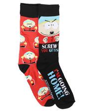 DRJ SOCK SHOP - 2Pk Cartman South Park Socks-2679397