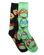 DRJ SOCK SHOP - 2 Pk TMNT Socks-2679391