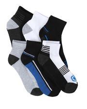 DRJ SOCK SHOP - 6 Pack Quarter Cushion Socks-2679162