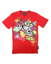 SWITCH - Graffiti Print Tee (8-20)-2679656
