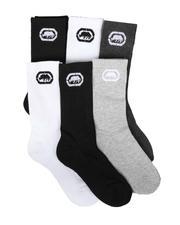 Socks - 6 Pack Athletic Half Cushion Crew Socks (3-9)-2680427