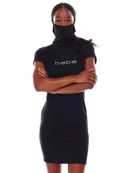 Fashion Lab - S/S Mask Bodycon Dress