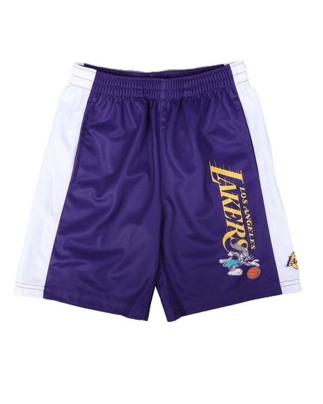 NBA x SPACE JAM - NBA x Space Jam Lakers Mesh Shorts (4-7)