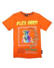 SWITCH - Flex Hard Iridescent PU Money Bag Tee (8-20)-2679641