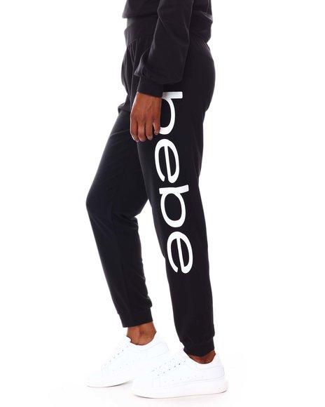 Fashion Lab - Jogger W/ Bebe Print Side logo