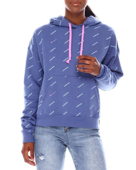 Champion - Print Powerblend Relaxed Hoodie