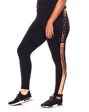 Women - Side Tape Leggings (Plus)-2679478