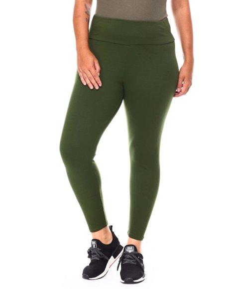 Fashion Lab - High Waist Basic Legging (Plus)