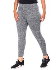 Fashion Lab - High Waist Basic Legging (Plus)-2681297