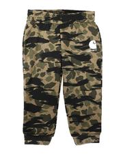 Carhartt - Loose Fit Fleece Camo Sweatpants (2T-4T)-2679946