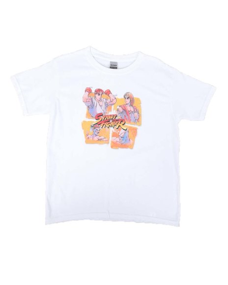 Arcade Styles - Street Fighter Characters Tee (8-20)